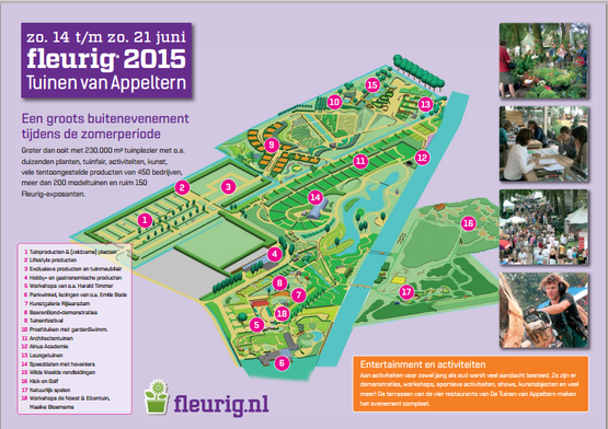 Fleurig 2015 Huis en Tuin in de Tuinen van Appeltern